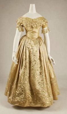 1837 wedding dress