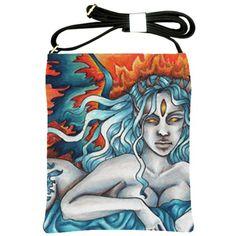 """""""Dreamer of the Eternal Fire"""" Shoulder Sling Bag via ArtsNow.com"""