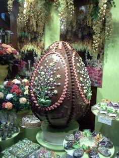 Easter Egg in Dusseldorf window