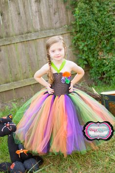 Halloween Witch Tutu Dress by BugaBugasBowtique on Etsy Witch Tutu, Girls Dresses, Flower Girl Dresses, Halloween, Trending Outfits, Wedding Dresses, Unique, Clothes, Beauty