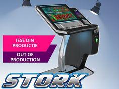 Stork inca mai poate fi cumparat/inchiriat pana la finalul lunii iunie 2018. Ulterior, va fi disponibil doar in sistem de Outlet Stork, Mai, Arcade Games, Jukebox