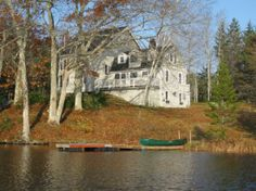 Garravale Boothbay Harbor Maine   Waterfront Vacation Properties