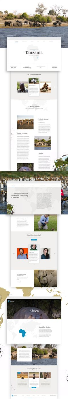 Cheesemans' Ecology Safaris' is a worldwide leader in wildlife photography expeditions. Elegant Seagulls was approached by Cheesemans' to redesign and rebuild their content rich web presence while making it easy for their clients to explore and select a s…