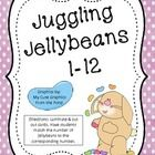 Students count the jellybeans on each card and match the bunny number with it. ...