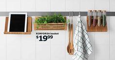 16 things I like about the new IKEA Catalog 2016 Home Interior, Kitchen Interior, Kitchen Decor, Kitchen Ideas, Kitchen Plants, Test Kitchen, Kitchen Cart, Ikea Catalogue 2016, Ikea Portugal