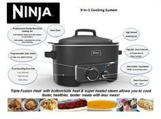 Ninja Cooking System Recipe   Just A Pinch Recipes Has about 20 recipes for the Ninja