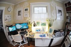 By Elisabeth Norton for SCBWI Bologna 2016 and Cynthia Leitich Smith 's Cynsations Providence-based illustrator Rongyuan Ma is origin. Bologna, Office Desk, Illustrators, Interview, Vanity, The Originals, Gallery, Furniture, Home Decor