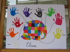Image - Elmer l'éléphant - Les activités d'une 2ème maternelle tout au... - Skyrock.com