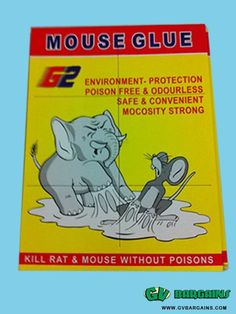 New store Big Sale Large Expert Catch Mouse & Rat Glue Traps_Daily use_GV Bargains : SPECIALS