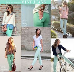 MINT jeans :) the latest addition to my closet!