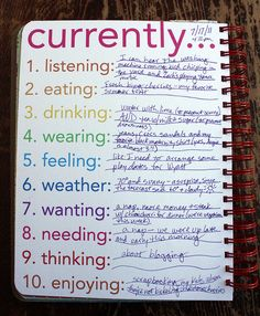 great journaling idea