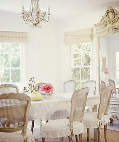 love the chairs, and windows and light and.....