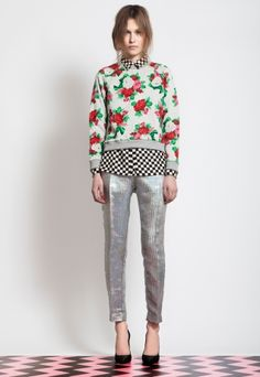 I want to pin every single look from MSGM's pre-fall '12.