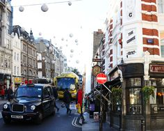 The charming streets of London