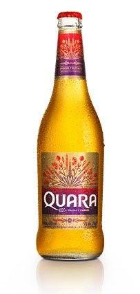 Cerveja Quara, estilo Specialty Beer, produzida por Backus, Peru. 5% ABV de álcool.