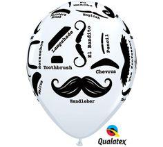 Various Styles Mustache Bash Latex 6 Balloons Little Man Birthday Party Supplies Little Man Party, Little Man Birthday, Moustache Party, Mustache Man, Mustache Birthday, Chevron, Party Supply Store, Baby Shower Balloons, Moustaches