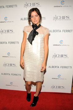 Jessica Stroup Photos: C.H.I.P.S Honors Alberta Ferretti At Their 2009 Spring Luncheon