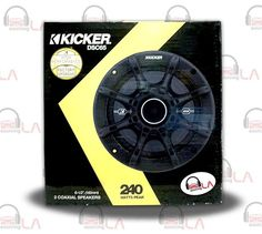 "Sourcing-LA: Kicker 41DSC65 6-1/2"" D-Series Coaxial 2-Way Speak..."