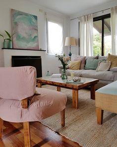 Una pátina que me enamoró / Vero Palazzo - Home Deco Palazzo, Dining Bench, Sweet Home, Color Rosa, Furniture, Home Decor, Flat, Decoration, Instagram