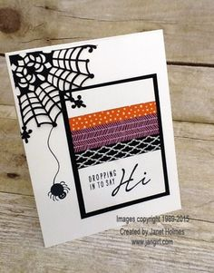 Acorny Thank you and Howl-o-ween funny card by holmesj - Cards and Paper Crafts at Splitcoaststampers