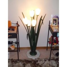 Wrought Iron Floor Lamp. Customize Realizations. 489