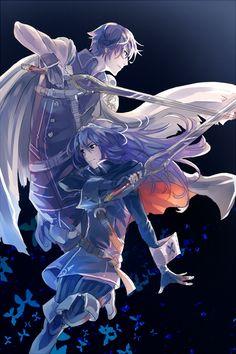 Chrom and Lucina - Fire Emblem Awakening