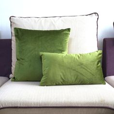Soft Collection Green Velvet Cushion Cover