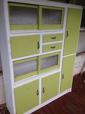 Art Deco Kitchen Hutch Or Extra Storage Cabinet