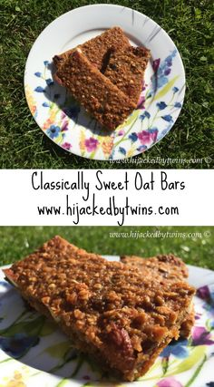 Hijacked By Twins: Classically Sweet Oat Bars with Team GB and Aldi