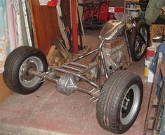 Trike Frame build at Bikerlifestyle Drift Trike Frame, Bike Frame, Vw Trikes For Sale, Truck Accesories, Go Kart Buggy, Tricycle Bike, Diy Go Kart, Custom Trikes, Reverse Trike