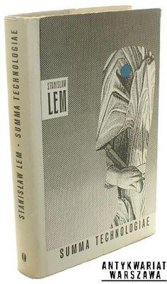 Summa technologiae, Lem Stanisław, (projekt obwoluty, Daniel Mróz), Pierwsze wydanie; First Edition.