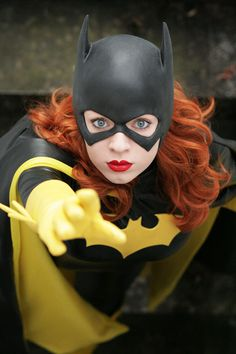 Batgirl  knightess-rouge:    This is probably not the prettiest picture we took, but it's my absolute favourite. …  photography as always by Janet Drake Photography and Costuming