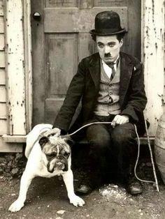 Photo: Old days memories ❤ Charlie Chaplin