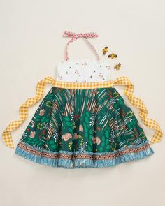 Sprouting Ellie Roundabout Dress