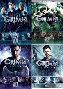 Grimm Seasons 1-4 DVD