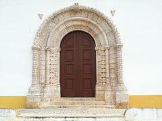 Church entrance Alvor, Portugal