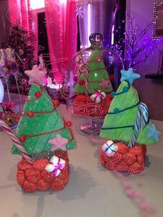 gateau de bonbon Magie de Noël