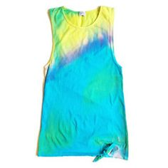 Heatwave Muscle Dress in Watercolor