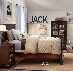 This is a great room for Jack to grow into.