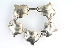 Vintage Hand Made 925 Sterling Silver Ivy Leaf by Yourgreatfinds