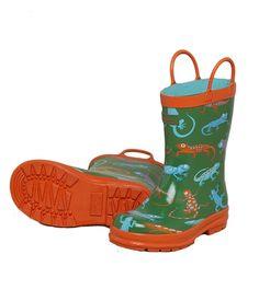 31907ba04a4f7 Hatley Store  Hatley Crazy Lizards Kids  Rain Boots