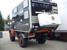 1981 Unimog 435 U1700L professionally converted by Friedl & Webber Camp OEG in Graz, Austria