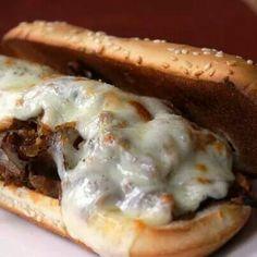 Cheesesteak sub sandwich