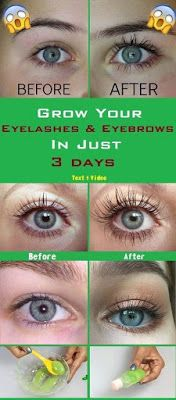 Grow your eyelashes & eyebrows in just 3 days, Eyelash And Eyebrow serum
