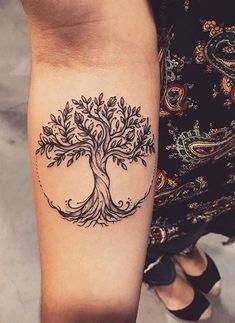Body Art Tattoos, Small Tattoos, Tattoos For Guys, Sleeve Tattoos, Tatoos, Tree Tattoos For Men, Cool Guy Tattoos, Celtic Tree Tattoos, Men Tattoos