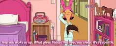 Bob's Burgers - Louise - We need our sleep. We're so little. #bobsburgers