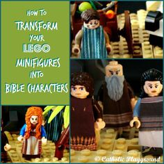 Use this creative tutorial (and free template!) to transform your Lego minifigures into Bible characters! Now you can create Lego scenes with your minifigures serving as Israelites, prophets, scribes, apostles, and more!