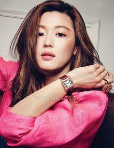 Breathtaking Pretties Jun Ji-hyun For Harper's Bazaar Korea's April 2014 Issue | Couch Kimchi