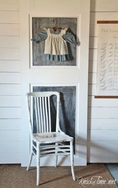 chalkboard door