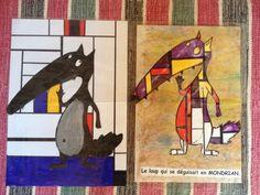 Un grand merci aux enfants de la classe maternelle de Miradoux pour leurs jolis dessins que j'ai découvert ce matin, et pour leurs magnifiques LOUP en Mondrian ! A bientôt, les enfants !